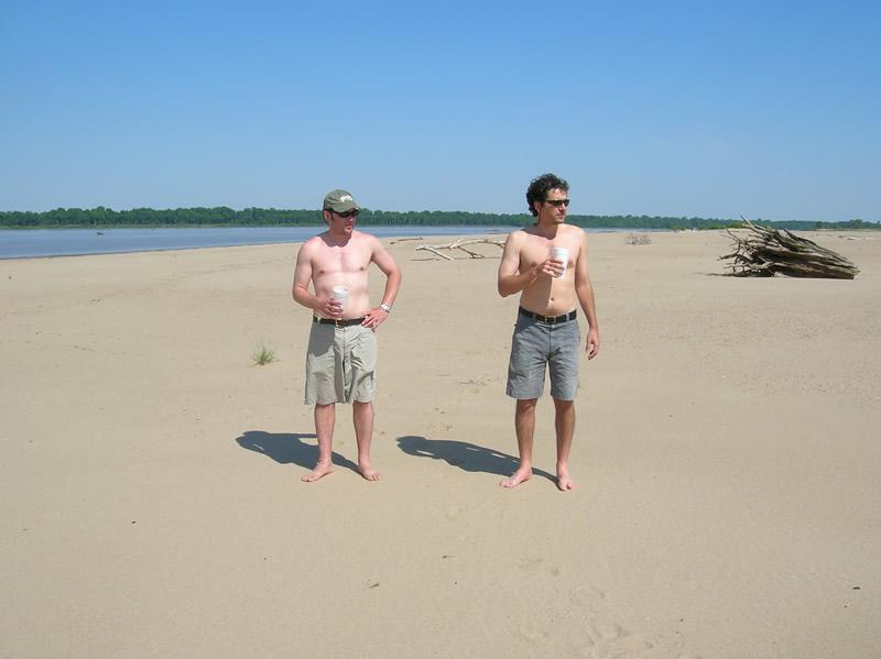 Mississippi River Sandbar