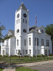 Fully Restored Desha County Courthouse