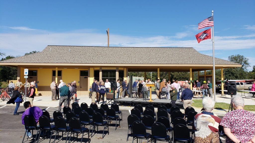 Arkansas City Trailhead Opening
